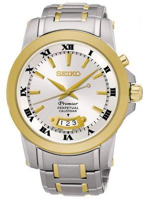 Mens Seiko Premier perpetual calendar SNQ148P1 Watch
