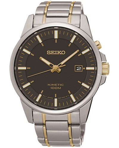 Mens Seiko Kinetic two tone SKA735P1 Watch