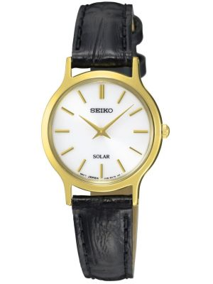 Womens Seiko Solar simple SUP300P1 Watch