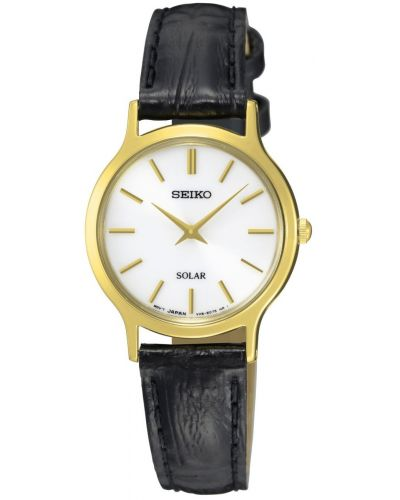 Womens Seiko Solar simple SUP300P1 Watch