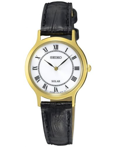 Womens Seiko Solar minimal SUP304P1 Watch