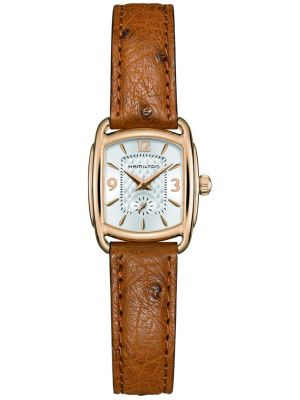 Hamilton American Classic Bagley brown leather H12341555 Watch