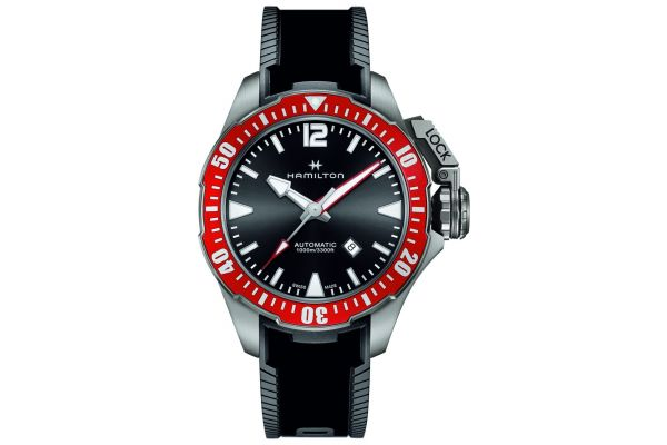Mens Hamilton Khaki Navy Watch H77805335