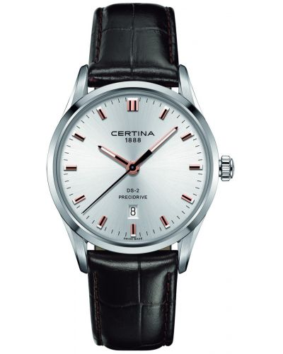 Mens Certina DS-2 rose highlighted C0244101603121 Watch