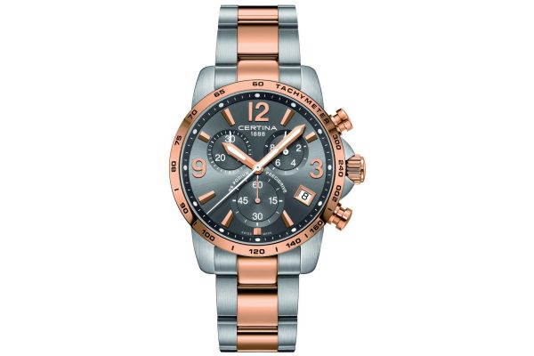 Mens Certina DS Podium Chronograph Watch C0344172208700