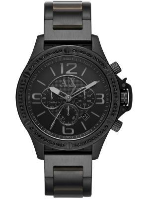 Armani Exchange Wellworn quartz all black AX1520 Watch