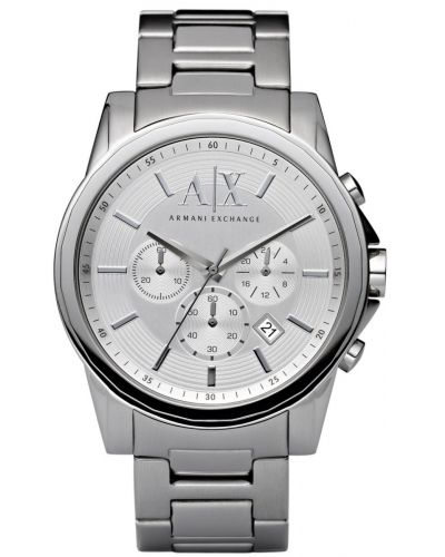 Mens Armani Exchange Outer Banks stainless steel date AX2058 Watch