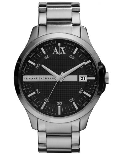 Mens Armani Exchange Hampton black dial AX2103 Watch