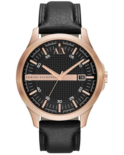Mens Armani Exchange Hampton rose gold plated dress AX2129 Watch