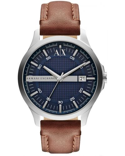Mens Armani Exchange Hampton blue dial AX2133 Watch