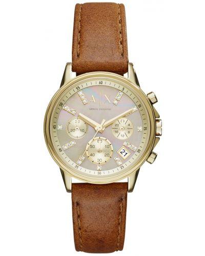 Womens Armani Exchange Lady Banks crystal set AX4334 Watch