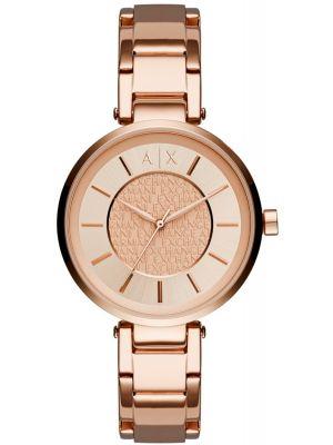 Womens Armani Exchange Olivia rose gold quartz AX5317 Watch