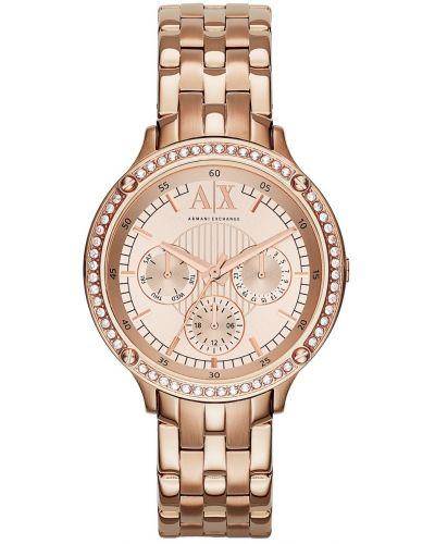 Womens Armani Exchange Capistrano crystal set AX5406 Watch