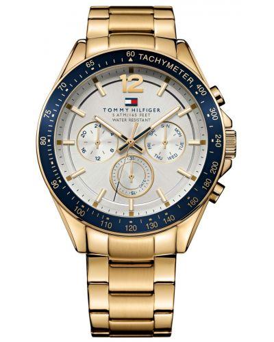 Mens Tommy Hilfiger Luke gold plated 1791121 Watch