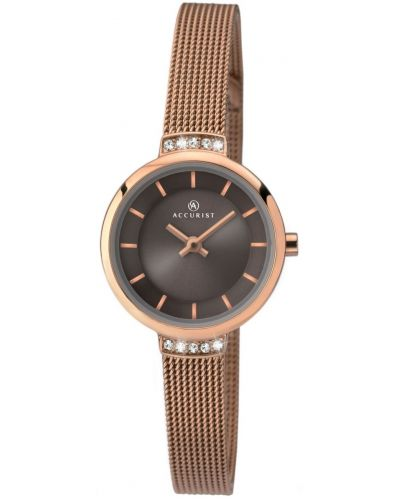 Womens Accurist Dress quartz rose gold plated 8082.00 Watch