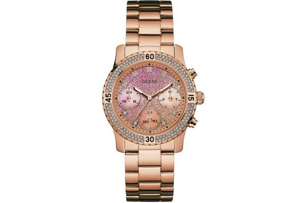 Womens Guess Confetti Watch W0774L3
