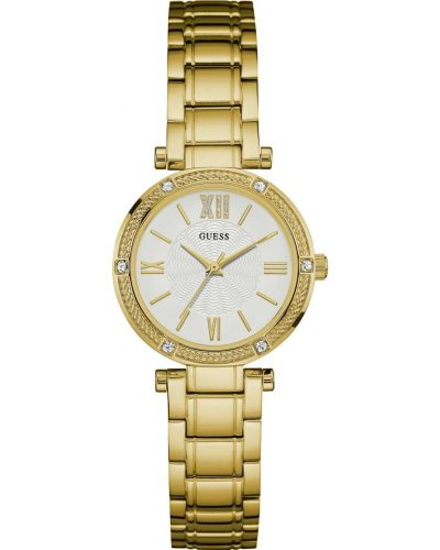 Womens Guess Park Ave South gold plated W0767L2 Watch