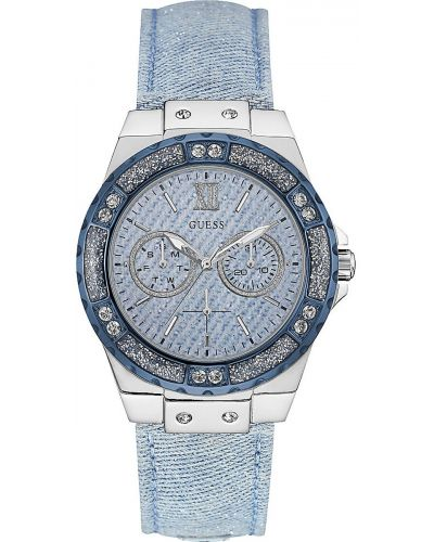 Womens Guess Limelight crystal set W0775L1 Watch