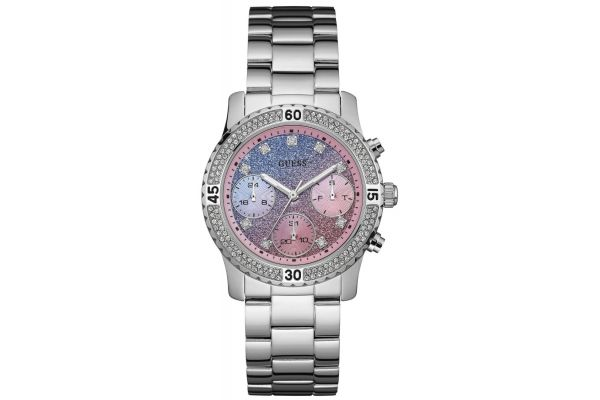 Womens Guess Confetti Watch W0774L1