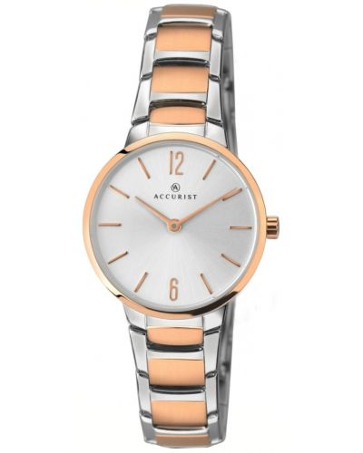 Womens Accurist Contemporary rose gold plated 8103.00 Watch