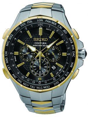 Mens Seiko Coutura solar radio sync SSG010P9 Watch
