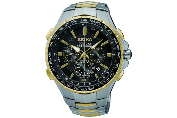 Mens Seiko Coutura Watch SSG010P9