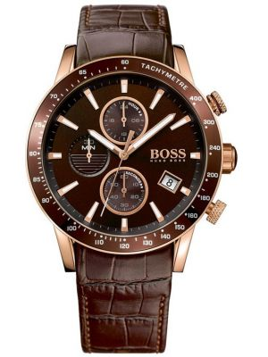 Mens Hugo Boss Rafale chronograph IP Plated 1513392 Watch