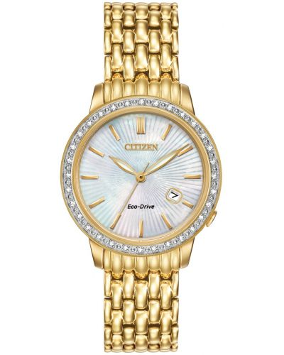 Womens Citizen Silhouette mother of pearl EW2282-52D Watch