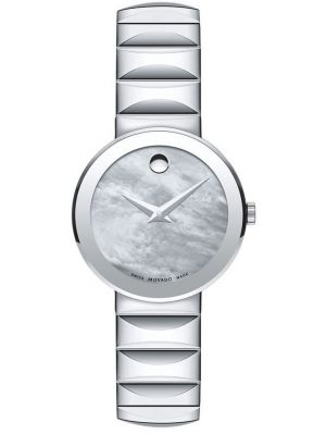 Womens Movado Sapphire silver mother of pearl 607048 Watch