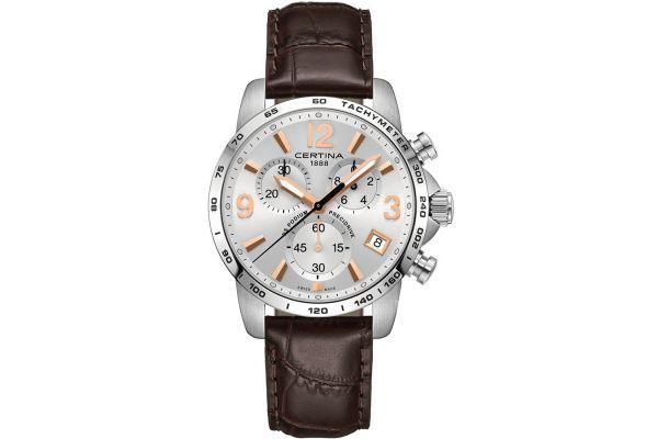 Mens Certina DS Podium Chronograph Watch C0344171603701