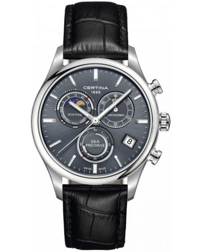 Mens Certina DS-8 moonphase C0334501635100 Watch