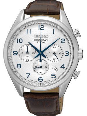 Mens Seiko quartz SSB229P1 Watch