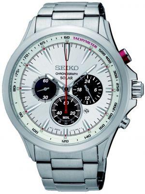 Mens Seiko quartz chrono SSC491P1 Watch