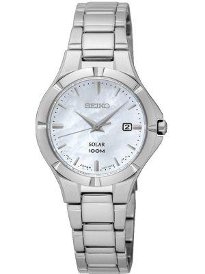 Womens Seiko Solar 100m stainless steel SUT293P1 Watch