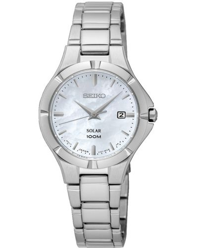Womens Seiko Solar 100m stainless steel SUT293P1 Watch