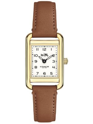 Womens Coach Thompson brown leather strap 14502297 Watch
