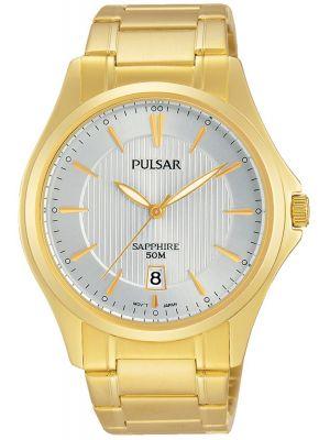 Mens Pulsar  Dress Wear 50m quartz PS9384X1 Watch