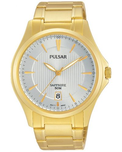 Mens Pulsar  Dress Wear 50m quartz PS9384X1 Watch