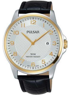 Mens Pulsar  Dress Wear two toned quartz PS9444X1 Watch