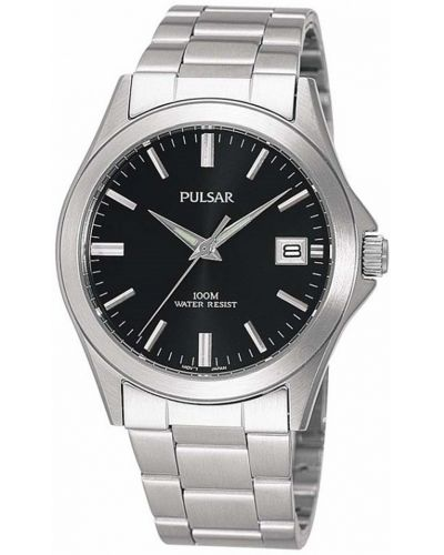 Mens Pulsar  Classic stainless quartz PXH091X1 Watch