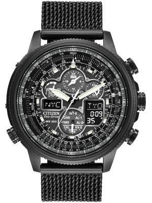 Mens Citizen Navihawk radio controlled A-T JY8037-50E Watch