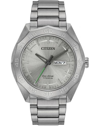 Mens Citizen eco drive titanium AW0060-54A Watch