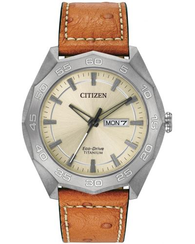 Mens Citizen eco drive titanium AW0060-11P Watch