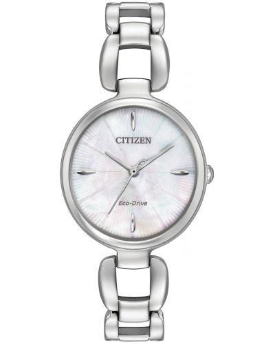 Womens Citizen L-Series mother of pearl EM0420-54D Watch