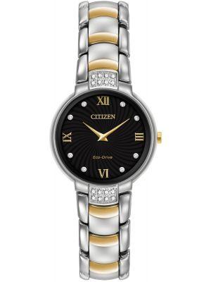 Womens Citizen Silhouette eco drive diamond EX1464-54E Watch