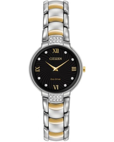 Womens Citizen Silhouette eco drive diamond EX1464-54E Watch