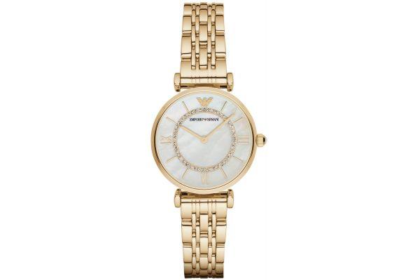 Womens Emporio Armani Gianni T-Bar Watch AR1907