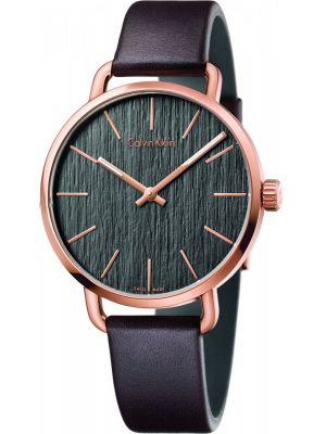 Mens Calvin Klein EVEN Rose Gold K7B216G3 Watch