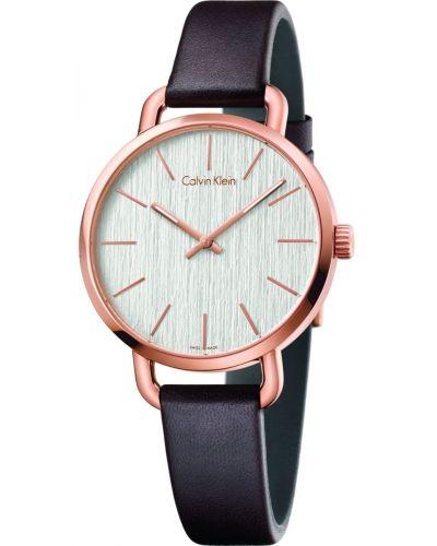 Womens Calvin Klein EVEN Rose Plated K7B236G6 Watch