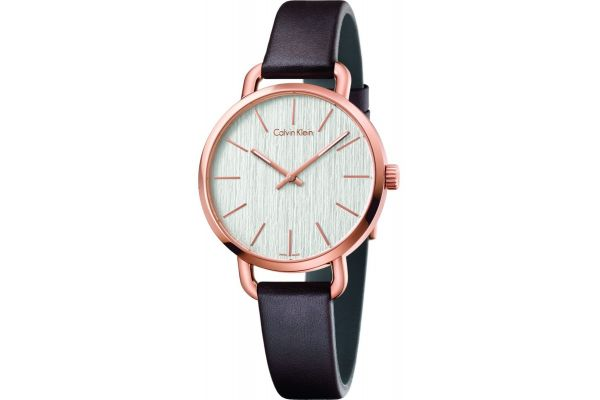 Womens Calvin Klein EVEN Watch K7B236G6